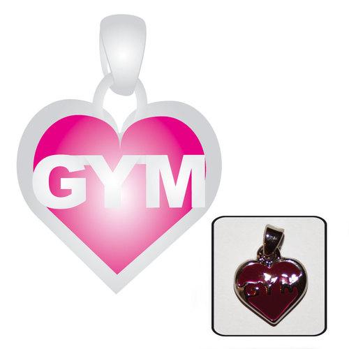 bijoux pendentifs gymnastique artistique pendentif coeur en argent. Black Bedroom Furniture Sets. Home Design Ideas