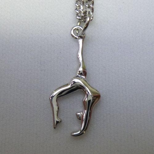 Bijoux pendentif gymnaste