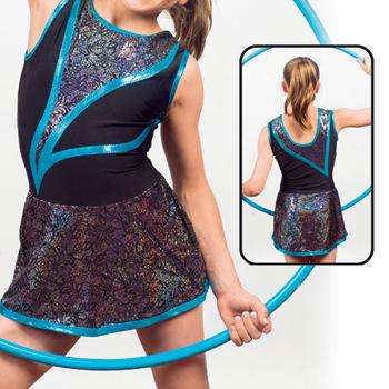 justogym justaucorps avec jupe pour patinage gymnastique grs gym rythmique gym artistique. Black Bedroom Furniture Sets. Home Design Ideas